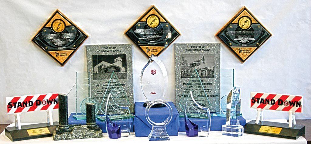 TAS Concrete awards
